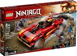 lego 71737 le chargeur ninja x 1