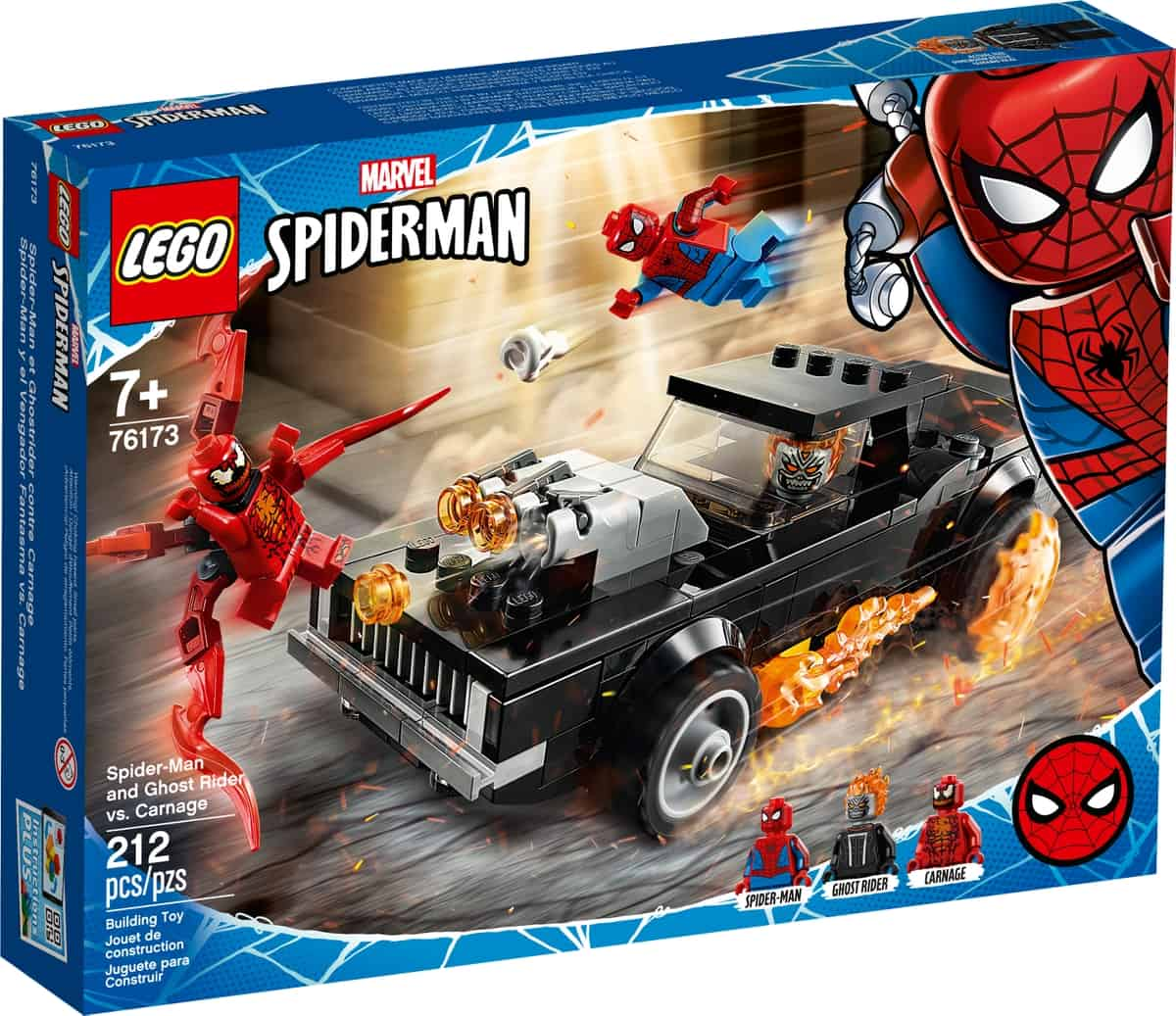 lego 76173 spider man et ghost rider contre carnage