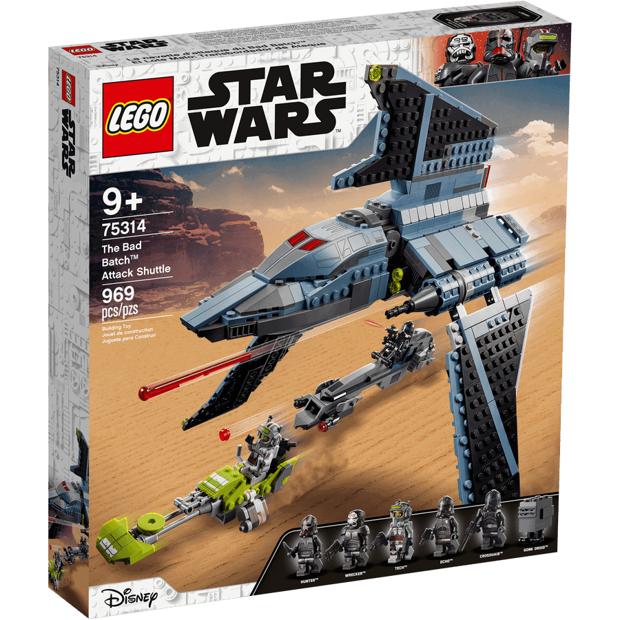 LEGO 75314 La navette d'attaque du Bad Batch - 20210506