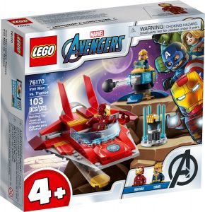 lego 76170 iron man contre thanos