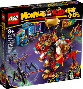 lego 80021 le lion de garde de monkie kid