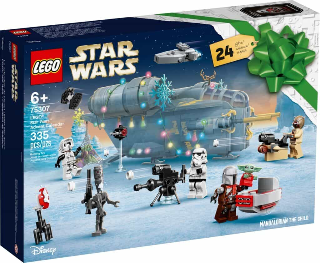 Le calendrier de l'Avent LEGO 75307 Star Wars - 20210721