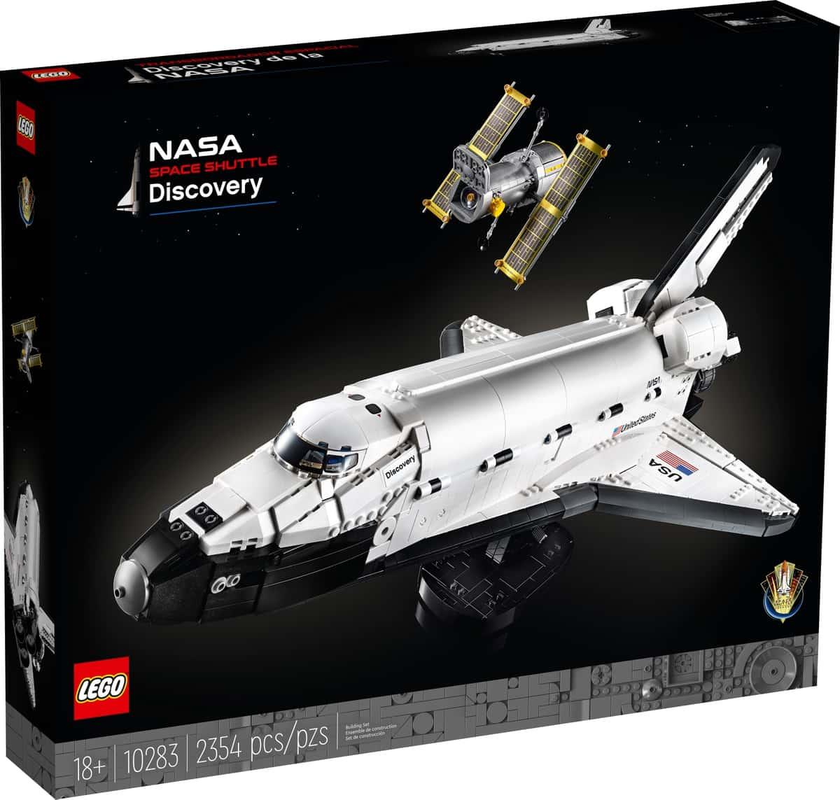 lego 10283 la navette spatiale discovery de la nasa
