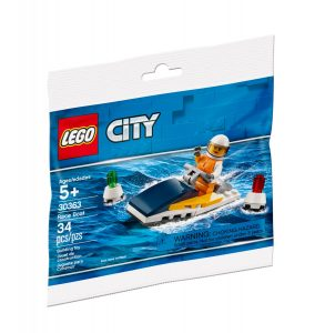 lego 30363 le bateau de course