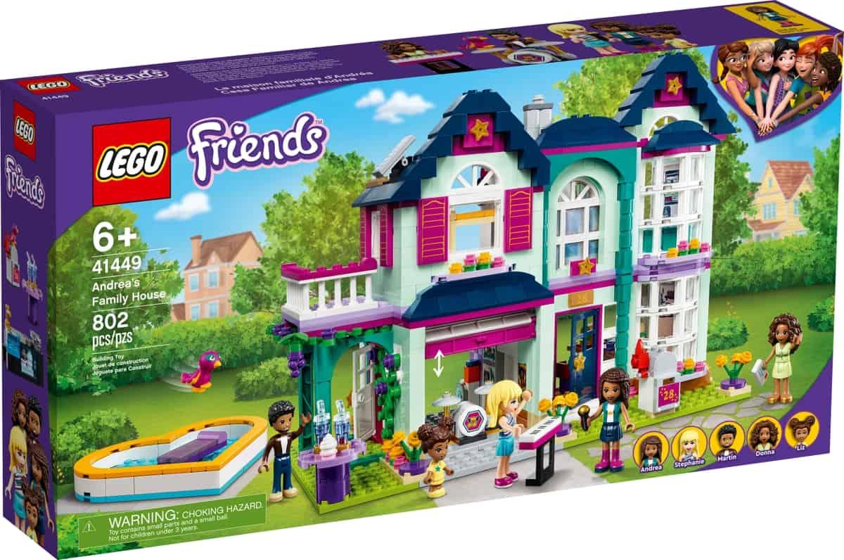 lego 41449 la maison familiale dandrea