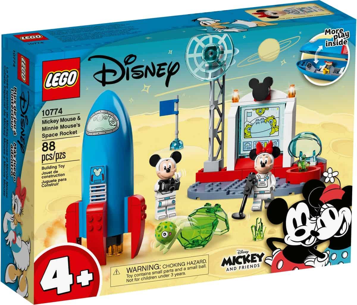 lego 10774 la fusee spatiale de mickey mouse et minnie mouse