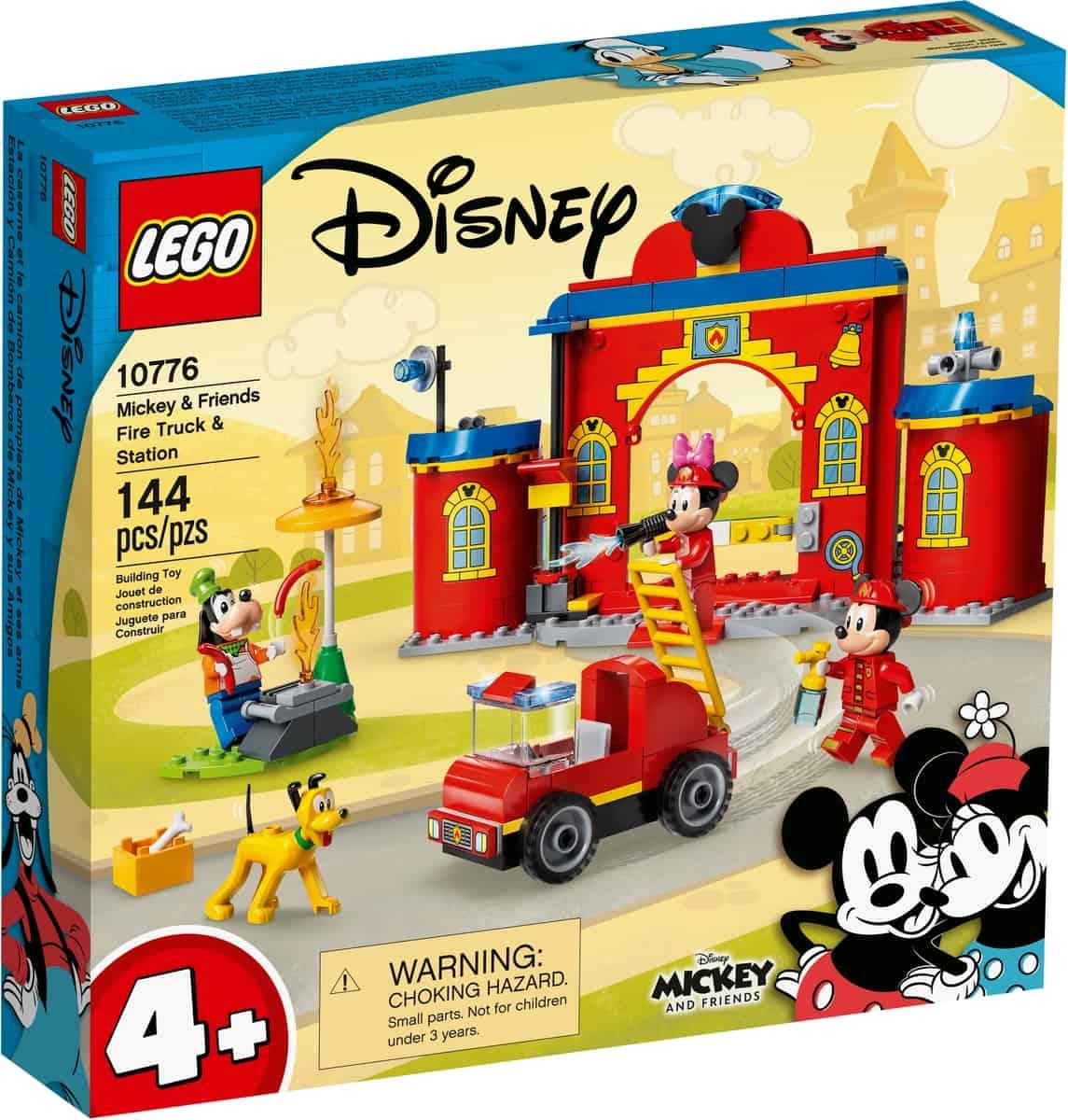 lego 10776 la caserne et le camion de pompiers de mickey et ses amis
