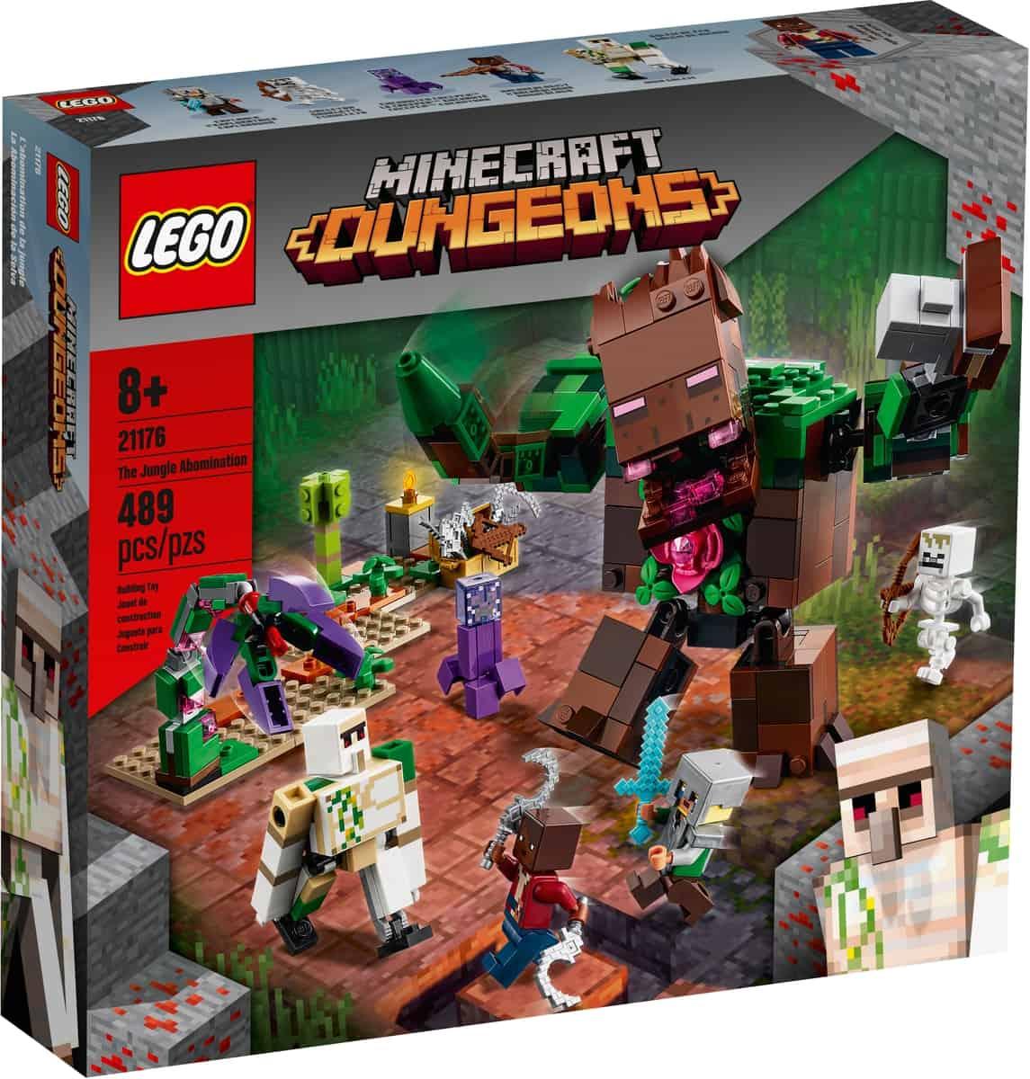lego 21176 labomination de la jungle