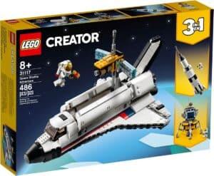 lego 31117 laventure en navette spatiale
