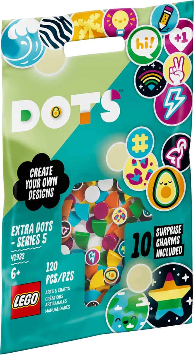 lego 41932 tuiles de decoration dots serie 5