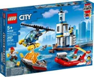 lego 60308 les garde cotes et les marins pompiers en mission