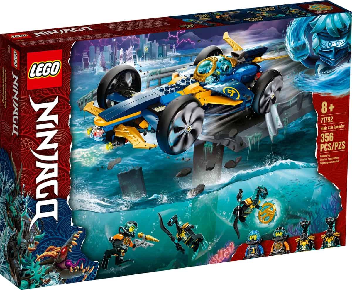 lego 71752 le bolide ninja sous marin