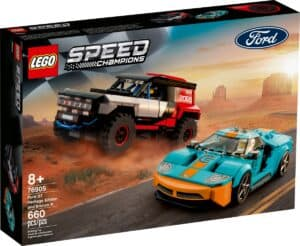 lego 76905 ford gt heritage edition et bronco r