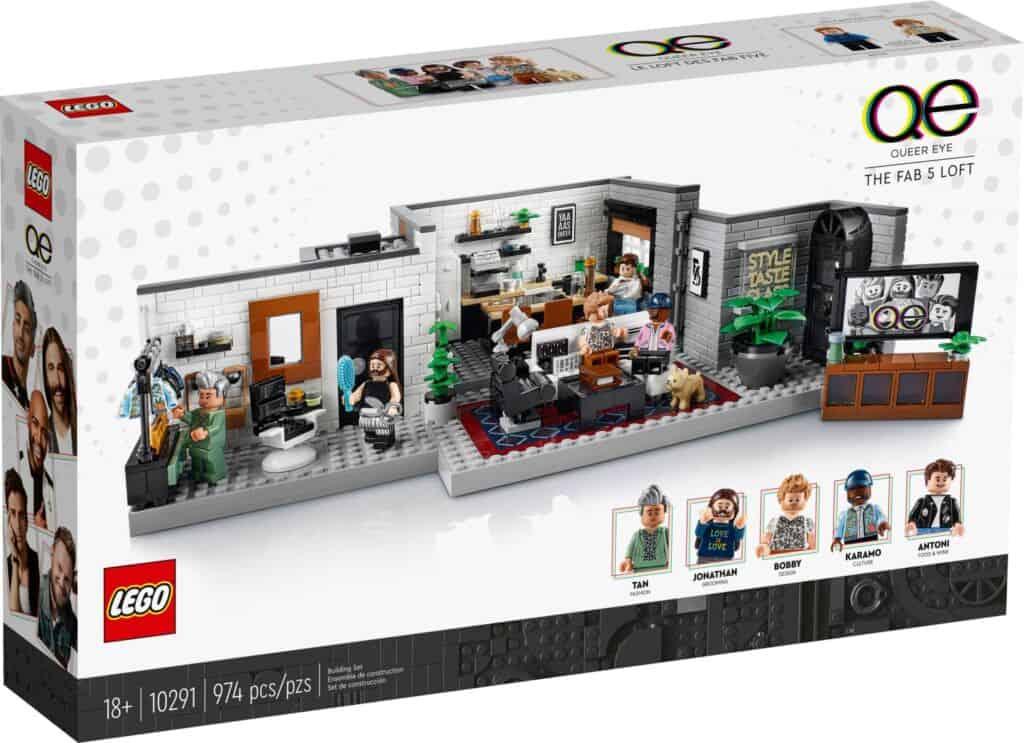 LEGO 10291 Queer Eye - The Fab 5 Loft - 20210914