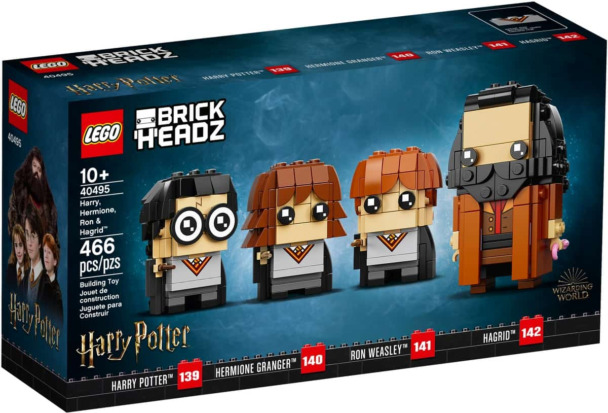 lego 40495 harry hermione ron et hagrid