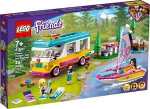 lego 41681 le camping car et le voilier de la foret
