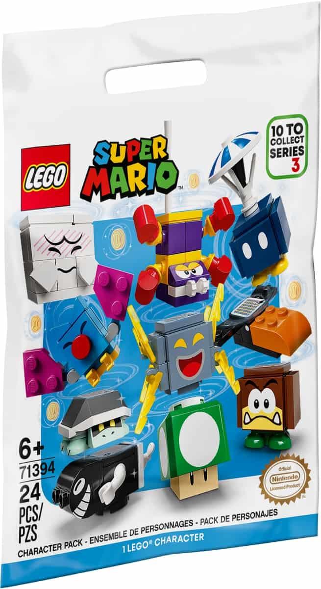 lego 71394 pack surprise de personnage serie 3