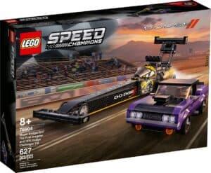 lego 76904 mopar dodge srt top fuel dragster et 1970 dodge challenger t a