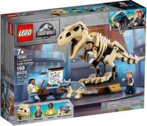 lego 76940 lexposition du fossile du t rex