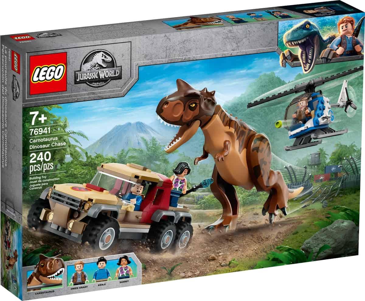 lego 76941 la chasse du carnotaurus
