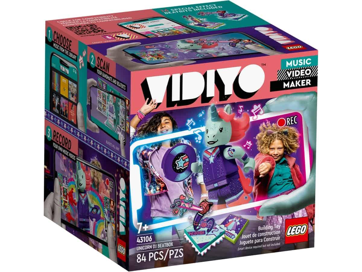 lego gvyr468rts unicorn dj beatbox 43106