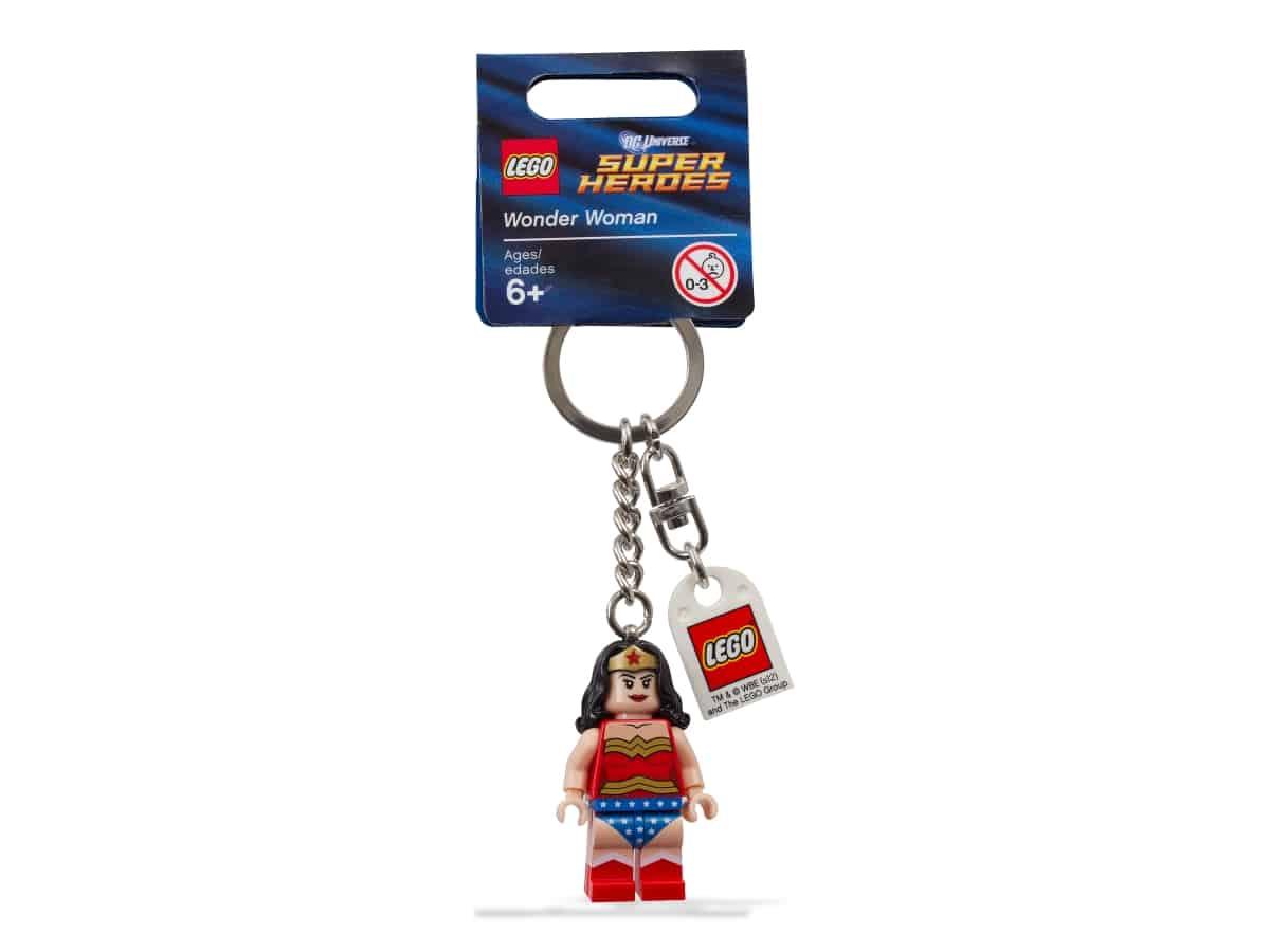 porte cles lego 853433 super heroes wonder woman