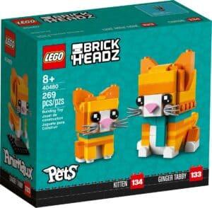 lego 40480 le chat roux tigre