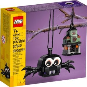 lego 40493 ensemble araignee et maison hantee