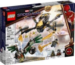 lego 76195 le drone de duel de spider man