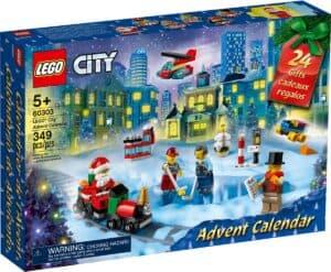 calendrier de lavent lego 60303 city