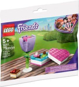 lego 30411 la boite de chocolats et une fleur