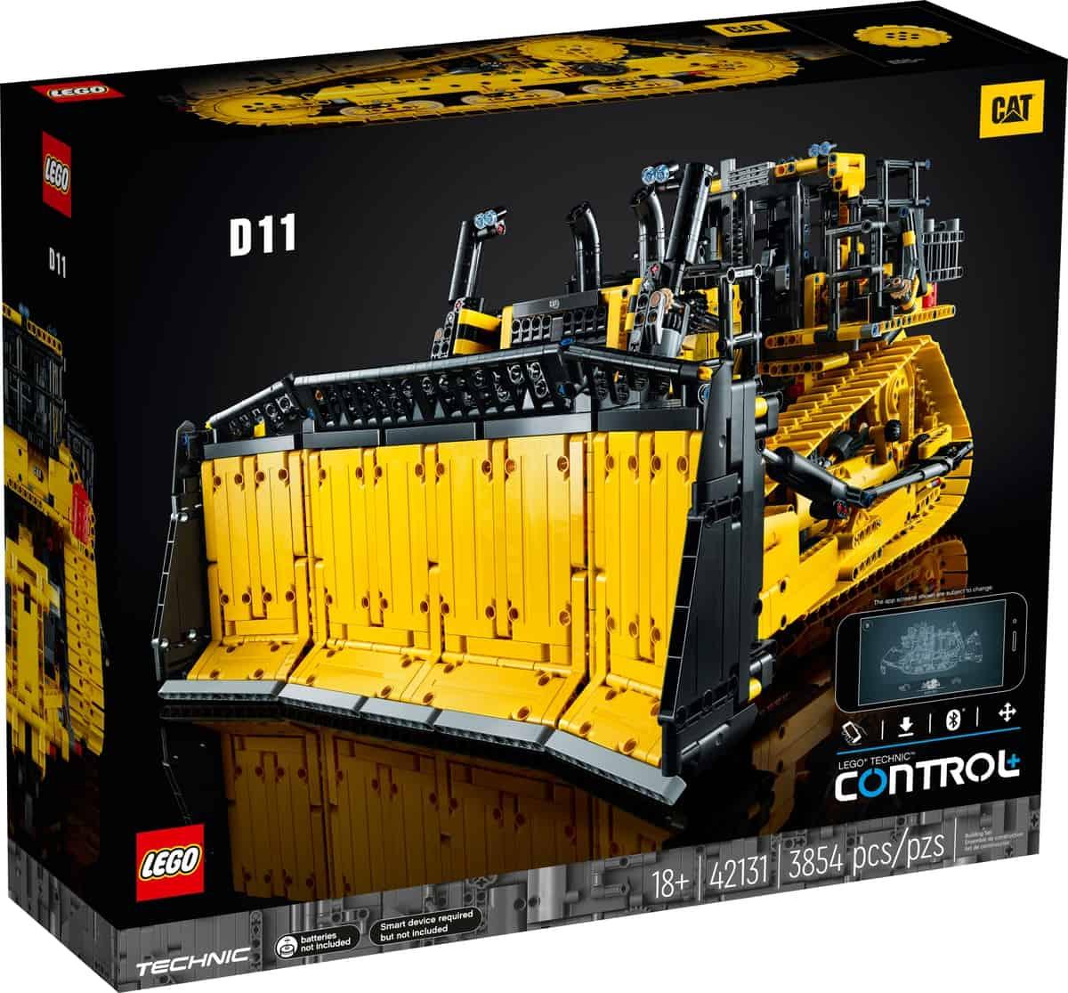 LEGO 42131 Bulldozer D11 Cat télécommandé