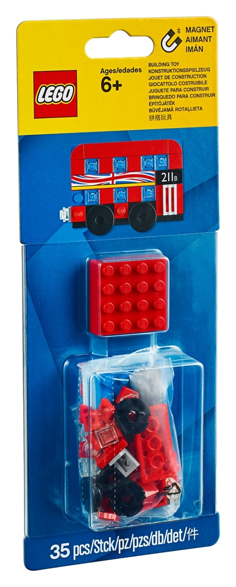 lego 853914 aimant modele bus de londres