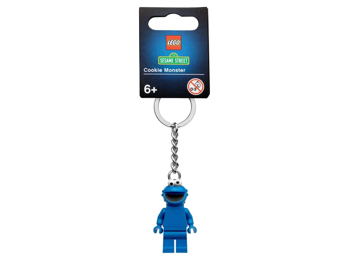 lego 854146 porte cles cookie monster
