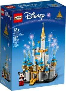 lego 40478 le chateau disney miniature