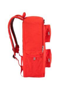 sac a dos en forme de brique lego 5005536 rouge