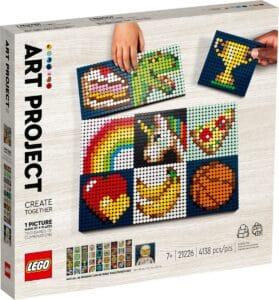 lego 21226 projet artistique crer ensemble